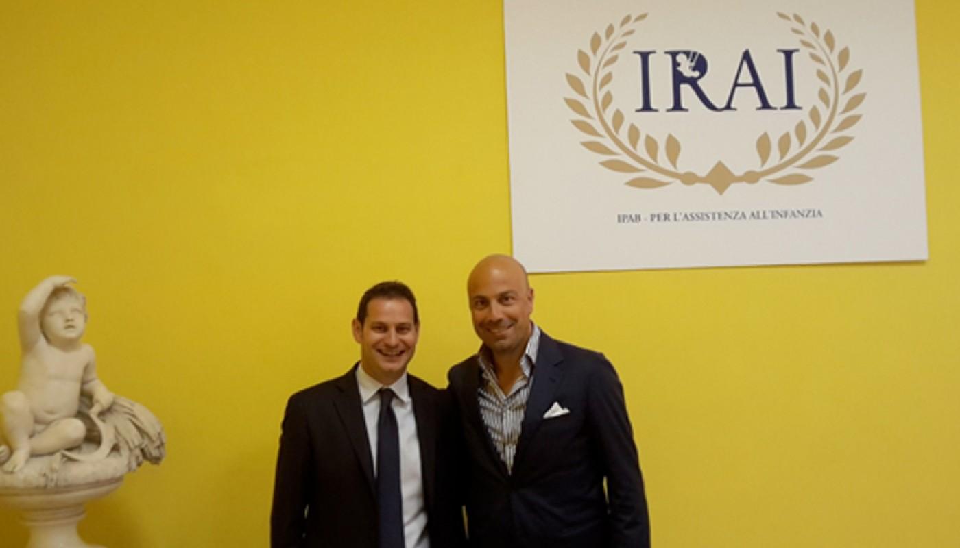 Ipab IRAI e Fondazione Cibrosi Cistica
