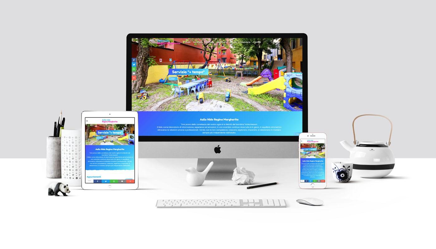 Online il nuovo sito dell'Asilo