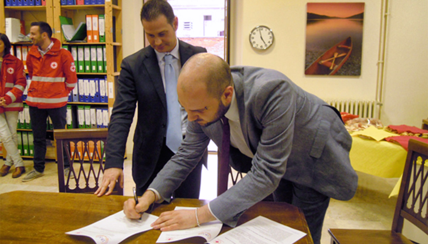 Protocollo d'intesa tra IPAB IRAI e Croce Rossa Italiana